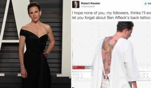 Jennifer Garner se moque du tatouage de Ben Affleck