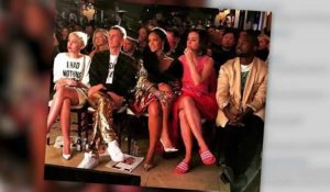 Rihanna, Kanye West, Miley Cyrus et Katy Perry aux Front Row