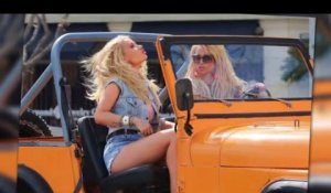 Britney Spears et Iggy Azalea tournent le clip de Pretty Girls