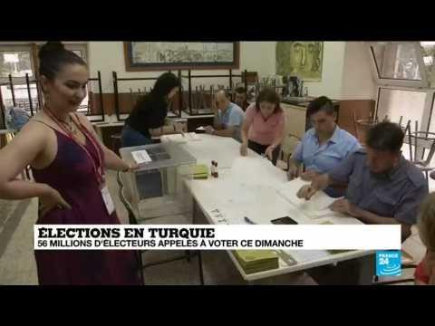 Ouverture des bureaux de vote en turquie
