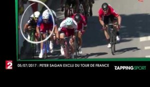 Zap Sport du 5 Juillet : Peter Sagan exclu du Tour de France