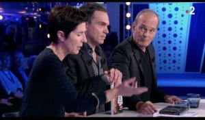 Tension entre Christine Angot et Laurent Baffie (ONPC) - ZAPPING TÉLÉ DU 12/02/2018