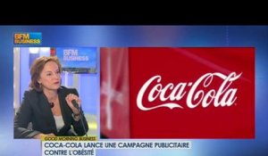 Coca Cola France et l'obésité : Dominique Reiniche dans Good Morning Business - 3 avril