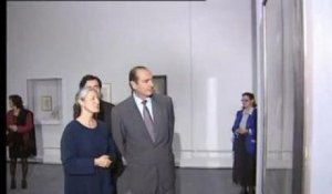 Chirac / expo Picasso