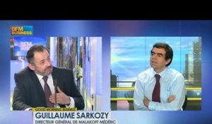 Accord sur l'emploi : Guillaume Sarkozy - 5 mars - BFM : Good Morning Business
