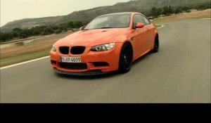 The new BMW M3 GTS - Driving footage car-to-car