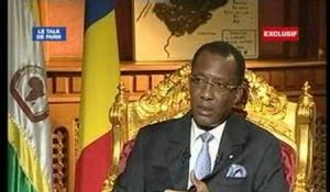 Un dialogue inclusif?Idriss déby sur France 24