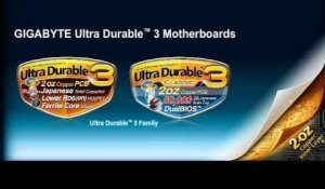 GIGABYTE 2 oz Copper PCB / Ultra Durable™ 3 Motherboards
