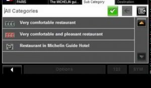 NAVIGON leads to Europe's top addresses with MICHELIN Hotel- and Restaurant Guide