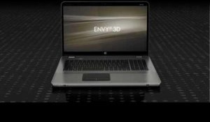 HP Envy17 3D product demo