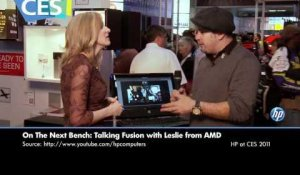 Talking Fusion with Leslie from AMD: The HP 100b All-in-One