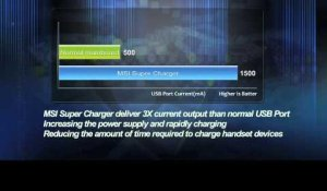 MSI technologie Supercharger