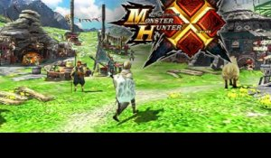 Monster Hunter X - Bande-annonce