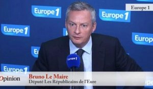 "TextO' : Syrie - Bruno Le Maire : ""La France doit prendre l'initiative d'une coalition internationale"""