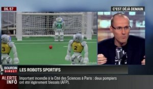 La chronique d'Anthony Morel: Robocup, la Coupe du monde de football des robots - 20/08
