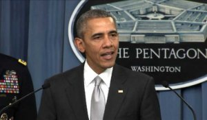 "Etats-Unis: ""les efforts contre l'EI s'intensifient"" dit Obama"