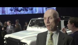 Land Rover Defender 2,000,000 Bonhams Auction - Interview John Edwards | AutoMotoTV
