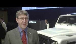 Land Rover Defender 2,000,000 Bonhams Auction - Interview Mike Adamson, Chief Executive | AutoMotoTV