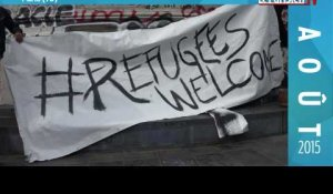 Août 2015 : Refugees Welcome