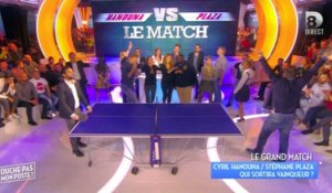 Hanouna perd son match (et sa place ?) contre Plaza au ping-pong ! Zapping People du 14/01/2016