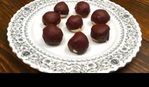 How to Make Coconut Chocolate Balls (HD)