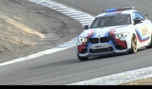 The new BMW M2 Safety car Driving on the Racetract at Laguna Seca Trailer | AutoMotoTV
