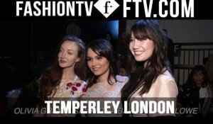 Temperley London Front Row at London Fashion Week F/W 16-17 | FTV.com