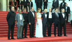 "Cannes: Sean Penn sur le tapis rouge pour ""The Last Face"""