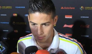 "Colombie - James Rodriguez : ""On mérite de passer"""