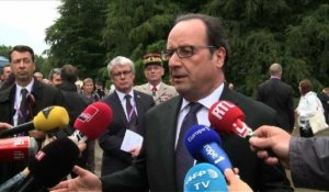 "Brexit: ni ""report"" ni ""annulation"" (Hollande)"