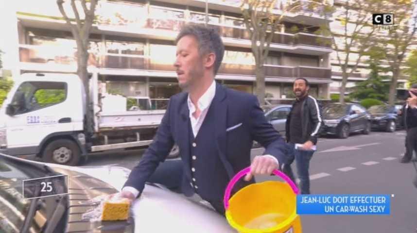 Tpmp Le Car Wash Sexy Et Drole De Jean Luc Lemoine Video Sur Orange Videos