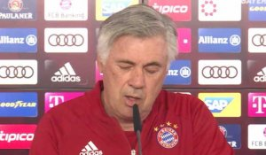 30e j. - Ancelotti : ''Remporter le titre dès que possible''