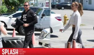 Alex Rodriguez et Jennifer Lopez vont à la gym ensemble