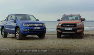 VW Amarok / Ford Ranger : le marché du pick-up en plein boom - Emission TURBO du 19/03/2017