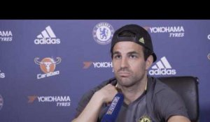 "Chelsea - Fabregas : ""J'admire beaucoup Messi"""