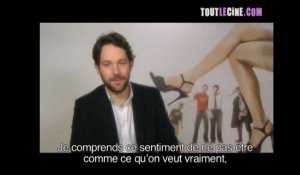 Les Grands Frères Interviews de Paul Rudd et Sean William Scott