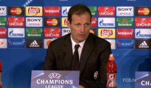 "8es - Allegri : ""Le football est brutal"""