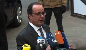 "Migrants: Hollande veut un ""accord global"" à Bruxelles (2)"