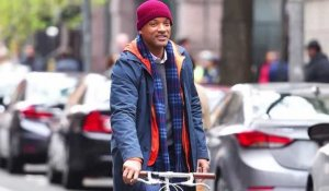 Will Smith s'énerve et jette un skateboard