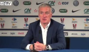 France - Russie : Deschamps défend... sa défense