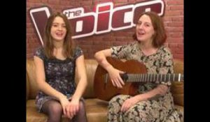 The Voice  : Cover : Hometown Glory - Adele - Par Luna et Jessanna  - TF1