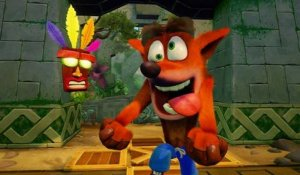 Crash Bandicoot N. Sane Trilogy - PSX 2016 Gameplay