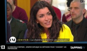 La Nouvelle Edition : Jenifer menace les paparazzis en direct (Vidéo)