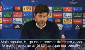 Groupe E - Pochettino salue l'arrêt d'Hugo Lloris contre Monaco