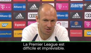 "City - Robben : ""Le titre pour Guardiola ? Pas impossible"""