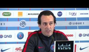 Unai Emery explique sa tactique contre Nancy
