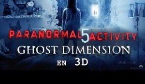 PARANORMAL ACTIVITY 5 GHOST DIMENSION – bande-annonce #2 [VOST]