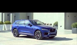 IAA 2015 - Jaguar F-Pace breaks world record during World Premiere | AutoMotoTV