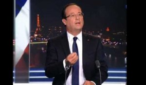 Taxation à 75% : Hollande confirme
