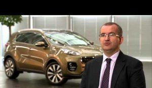 David Labrosse on the all-new Kia Sportage | AutoMotoTV